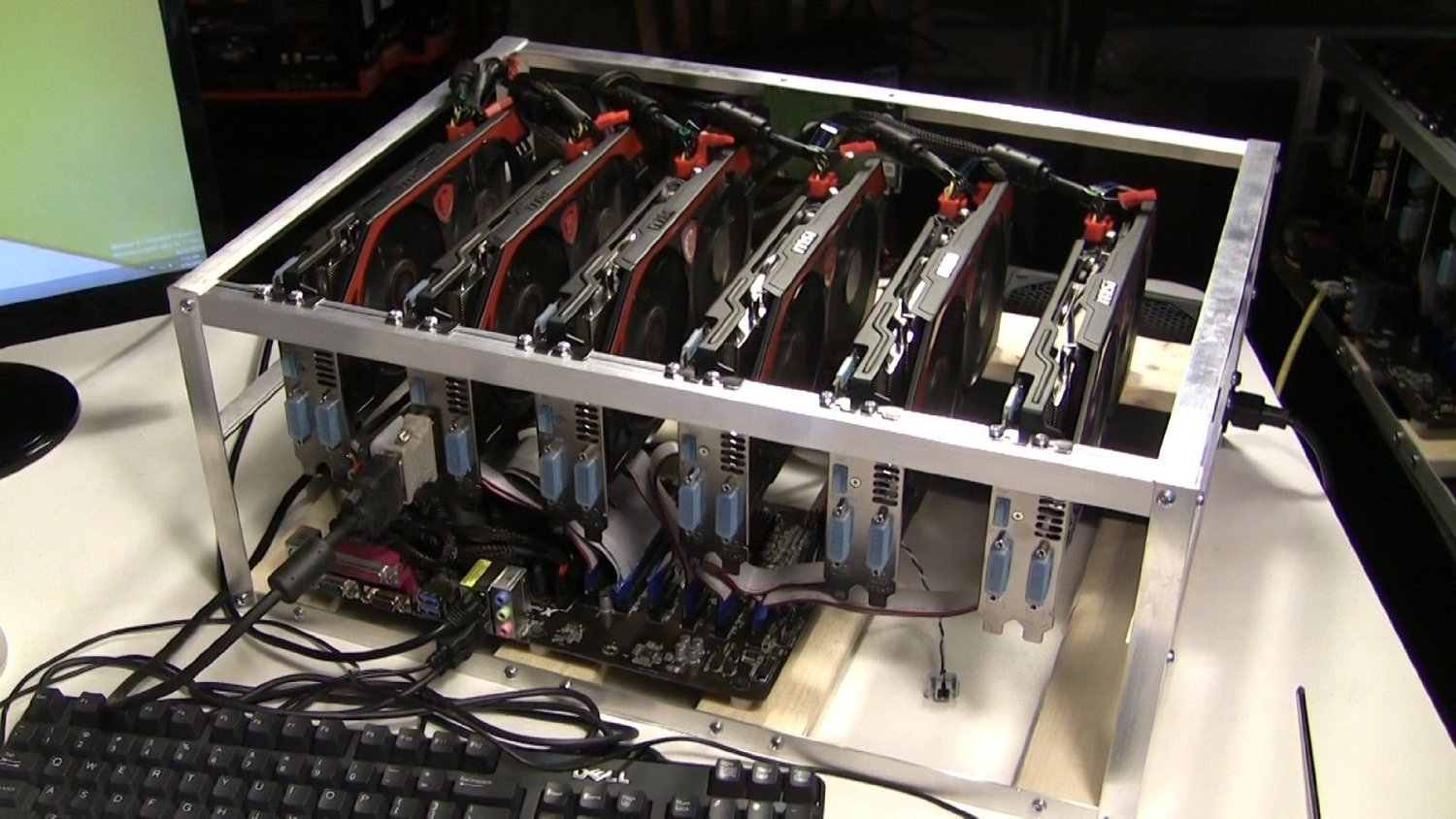 Ready Made Ethereum Mining Rig 80mh/s - 1st Mining Rig