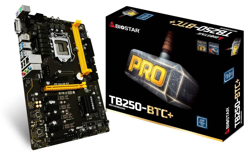 Biostar Tb250 Btc Review 8 Gpu Mining Motherboard 1st