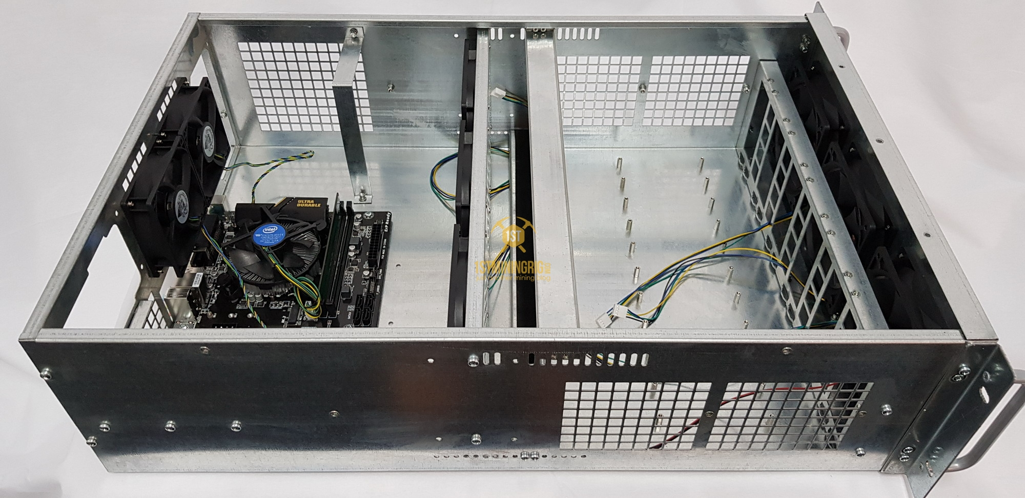 6x Gpu Mining Server Case 4u Rackmount Chassis 1st