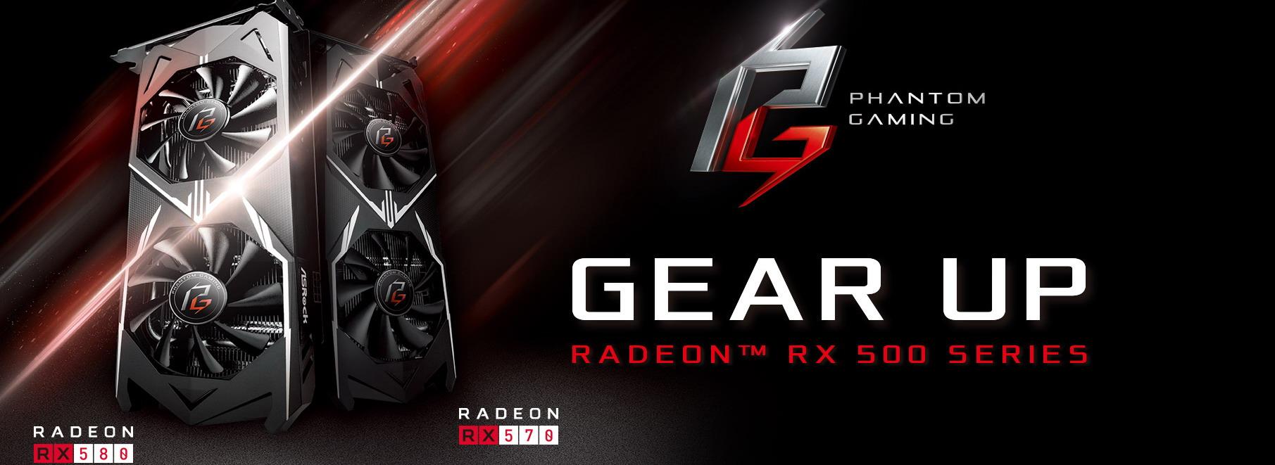 AsRock Phantom RX570 4GB & 8GB - New AMD Mining GPUs Coming Out Soon